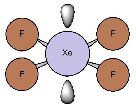 Image result for square planar molecule