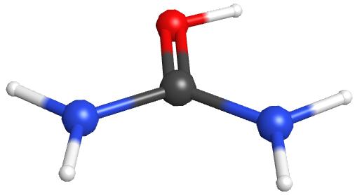 O-atom protonated urea