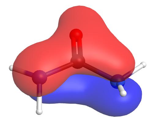 pi1 molecular orbital urea