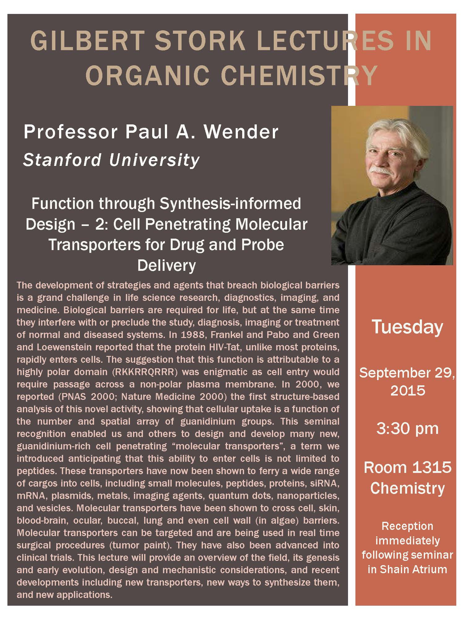 Stanford University | UW-Madison Department of Chemistry