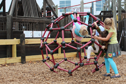 The buckyball at the Carbon Playground