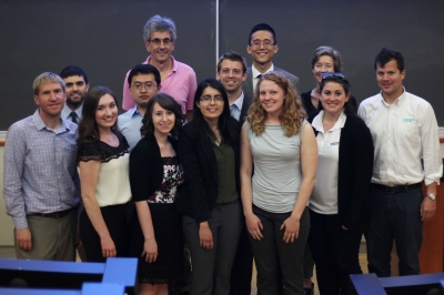 Chemical biology students and faculty at the path's Fourth-year Seminar Day