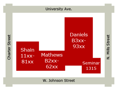 Chemistry Building Diagram
