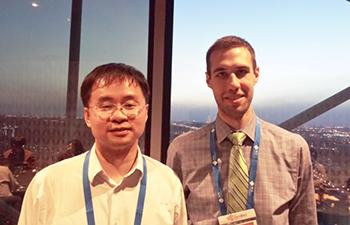 Professor Song Jin and Matt Faber
