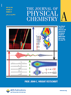 Journal of Physical Chemistry: Cover of Festschrift issue in honor of Prof. John Wright
