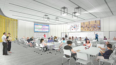 Active learning studio classroom