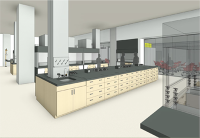 Organic chemistry teaching lab