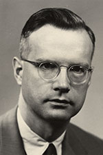 Professor Paul Bender, photo courtesy of UW-Madison Archives