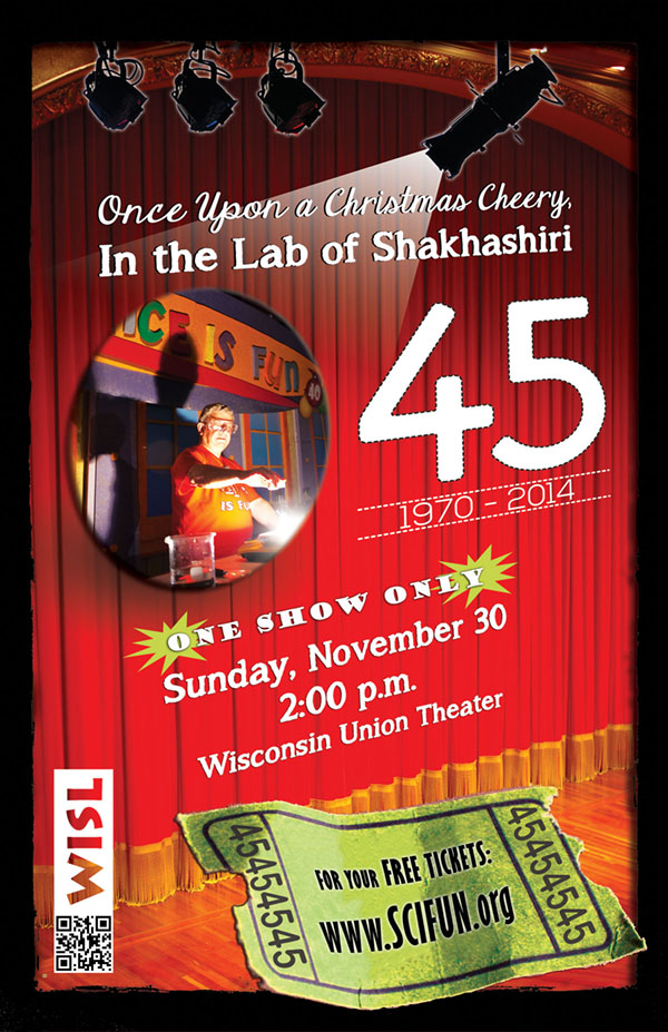Poster for Shakhashiri Christmas lecture