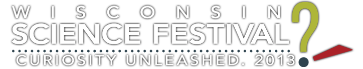 Wisconsin Science Festival 2013 logo