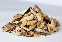 The lignin in wood chips and other biomass waste products could prove an economical and renewable source of aromatic chemicals