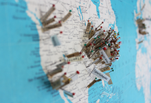 Zimmerman Alumni Map