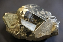 Pyrite, photo courtesy of UW-Madison Geology Museum